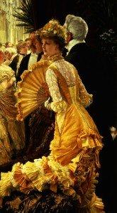 """O Baile"", James Tissot, 1878."