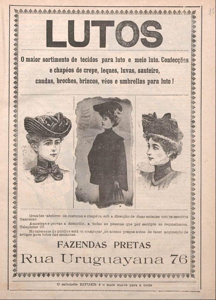 Luto, O Malho, 1904
